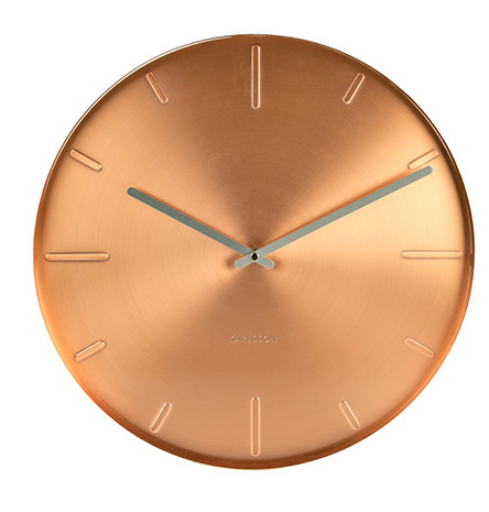 Nástenné hodiny 5594CO Karlsson, Belt, 40cm