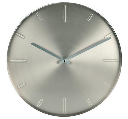 Nástenné hodiny 5594SI Karlsson, Belt, 40cm