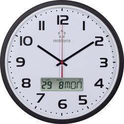 Nástenné hodiny Renkforce DCF WRCL135, 32cm