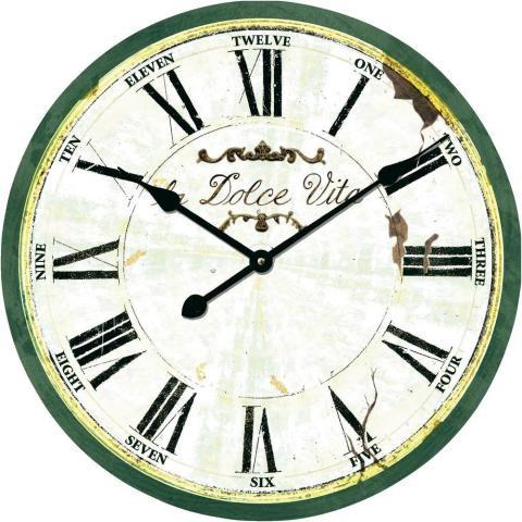 Nástenné retro hodiny Techno Line, la dolce vita WT1512, 50 cm