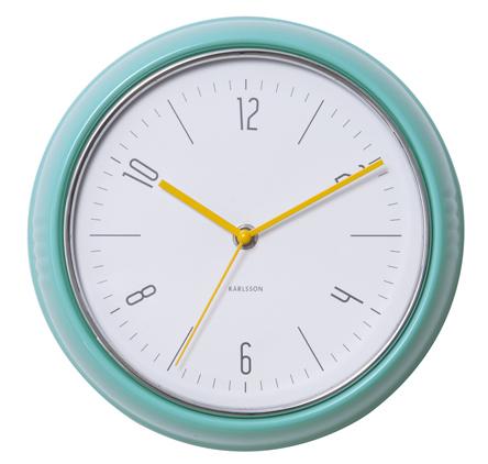 Nástenné retro hodiny 5525GR Karlsson 25cm