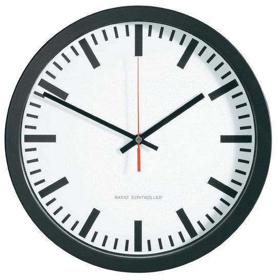 Stanične nástenné DCF hodiny BK, 40 cm