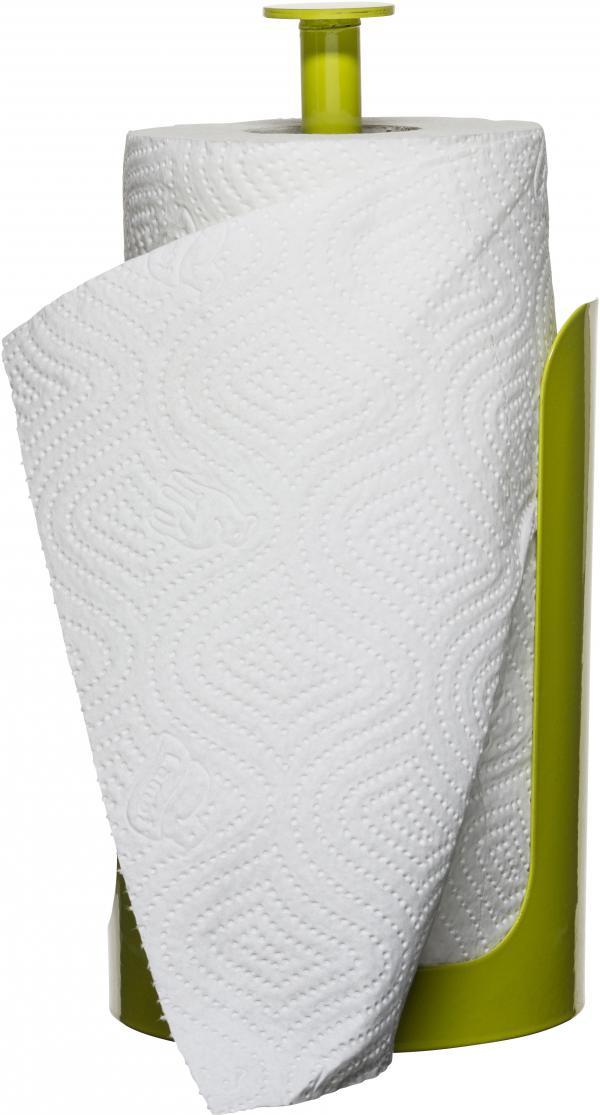 Stojan na rolky papierových utierok SAGAFORM Form, zelený