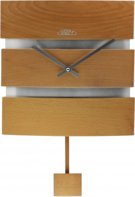 Nástenné hodiny PRIM, 3059.53 - svetlé drevo, 30cm