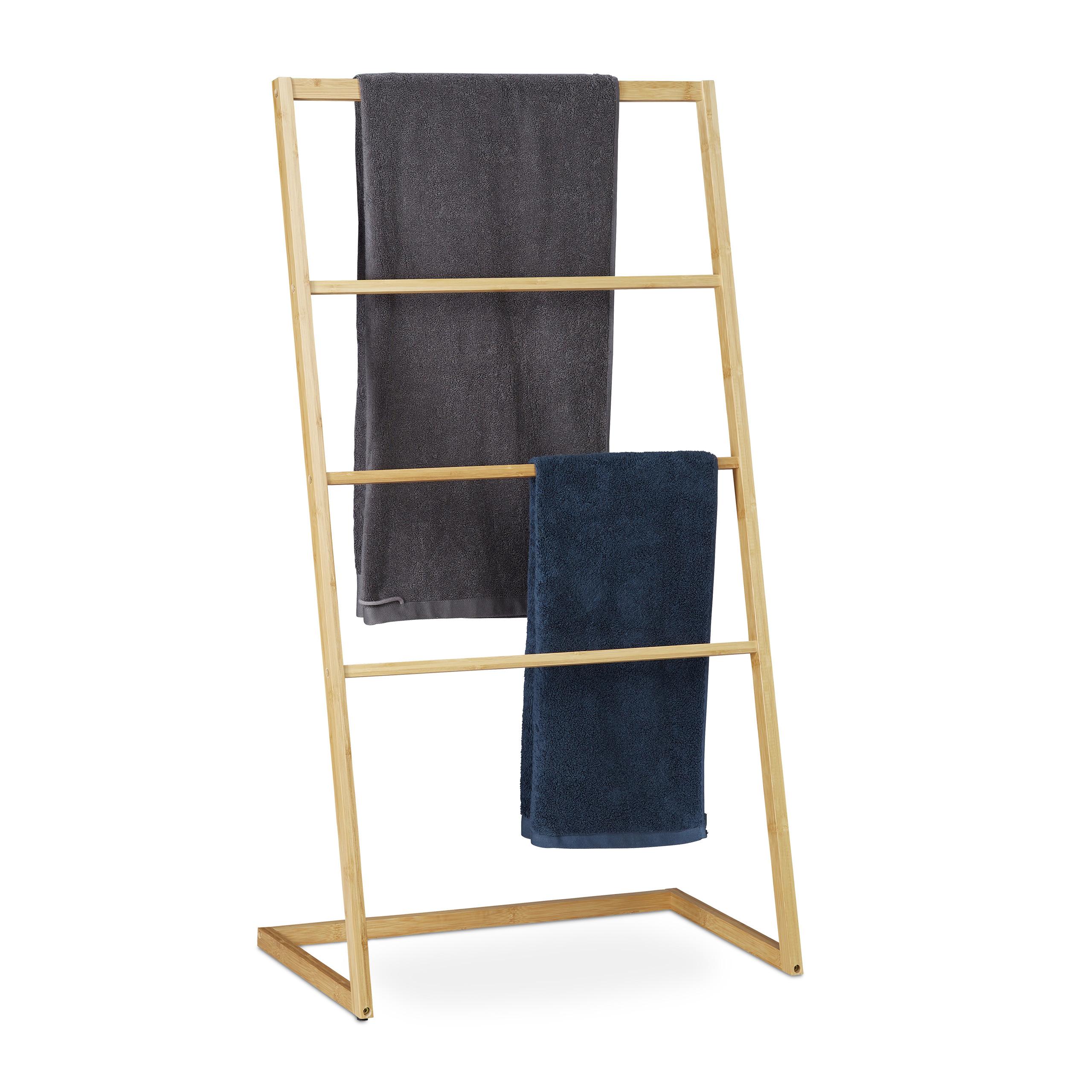 Bambusový stojan na uteráky, RD8870, 110cm