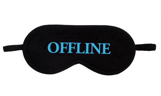 Maska na spanie Offline