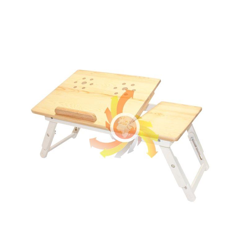 """Stolík na notebook drevený GOT72H1, 15 """""""