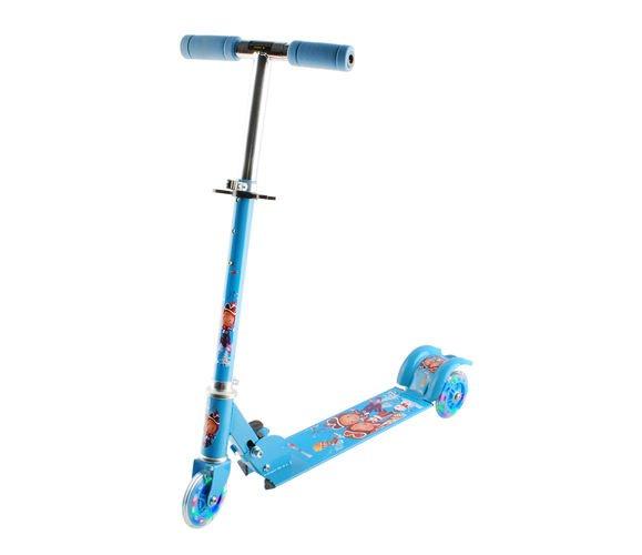 Detská Led kolobežka modrá, isot5722