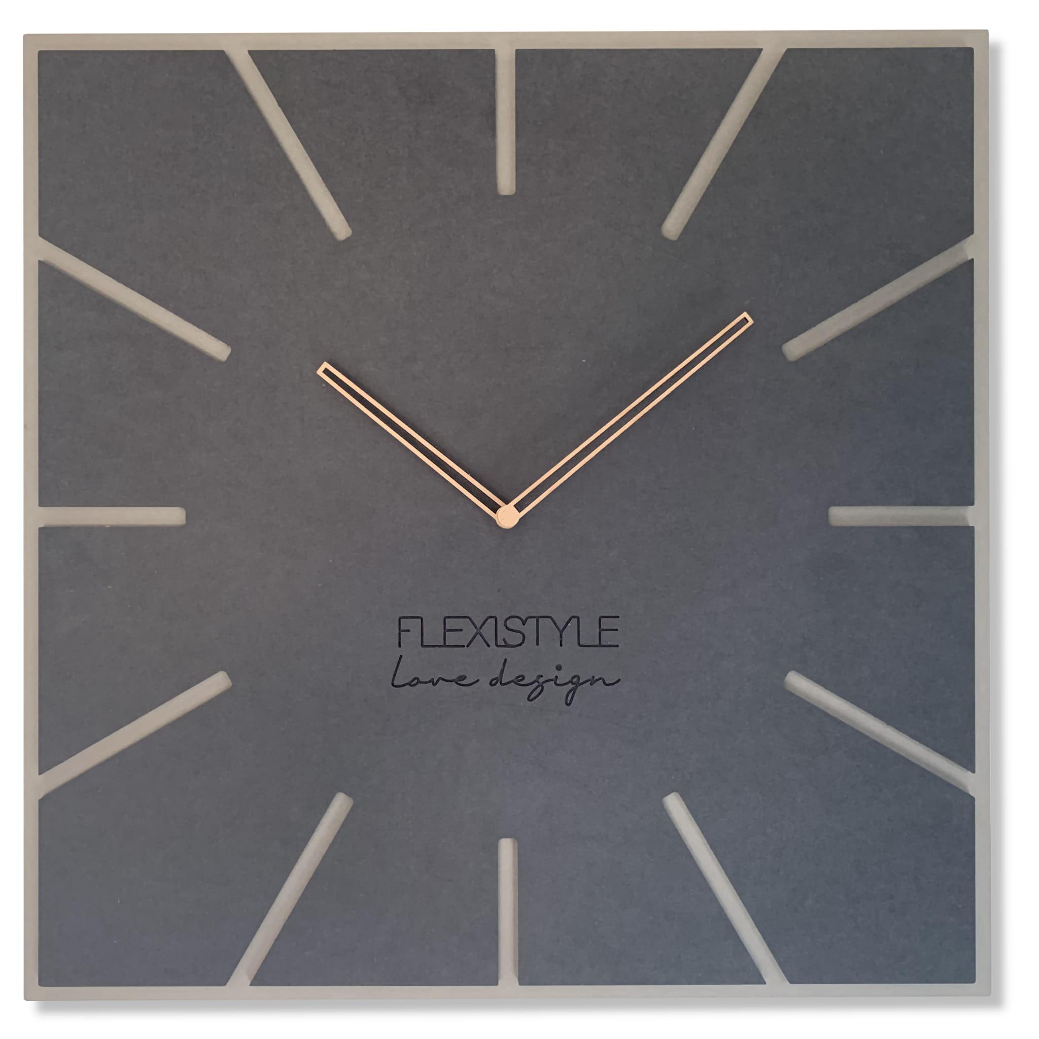 Nástenné drevené hodiny Eko Exact 1 Flex z119 1mat1a-dx, 50 cm