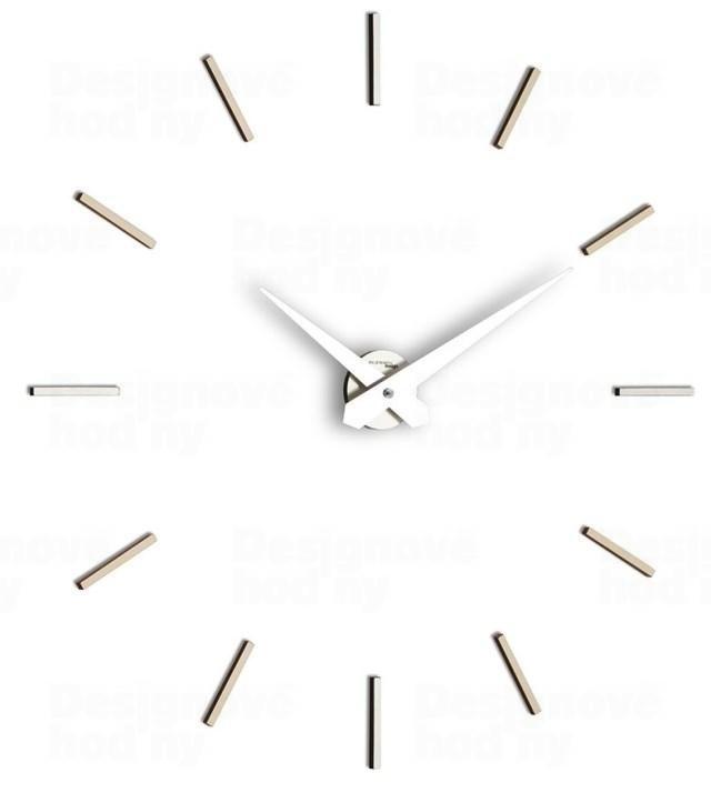 Designové nástenné hodiny I200MT IncantesimoDesign 90-100cm, grey