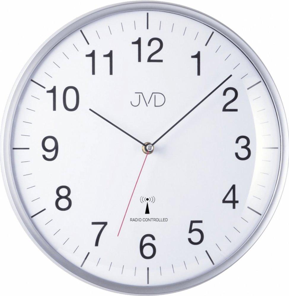 Nástenné hodiny JVD RH16.1, DCF, 33cm