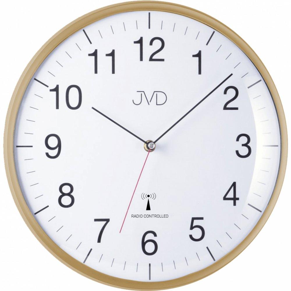 Nástenné hodiny JVD RH16.3, DCF, 33cm