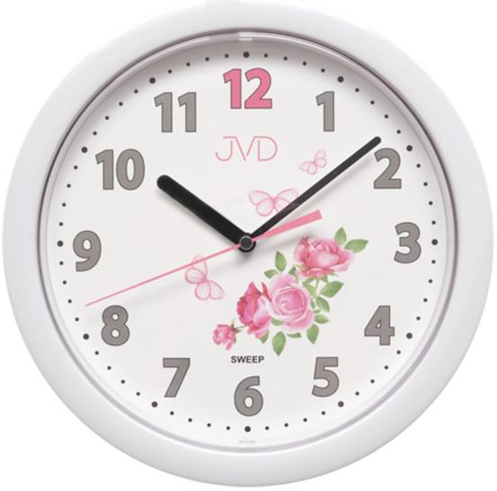 Nástenné hodiny JVD sweep HP612.D1, 25cm