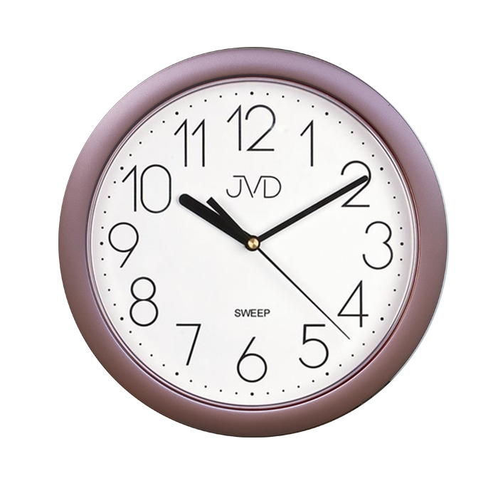 Nástenné hodiny JVD sweep HP612.16, 25cm