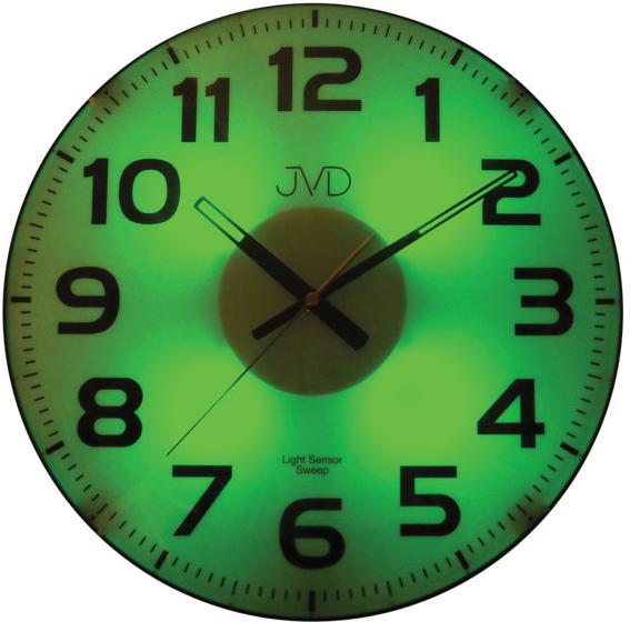 Nástenné hodiny JVD sweep HP679, 33cm