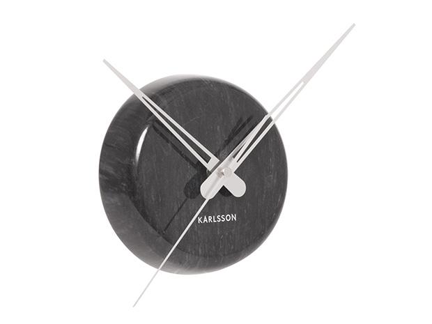 Nástenné hodiny 5535BK Karlsson 14cm