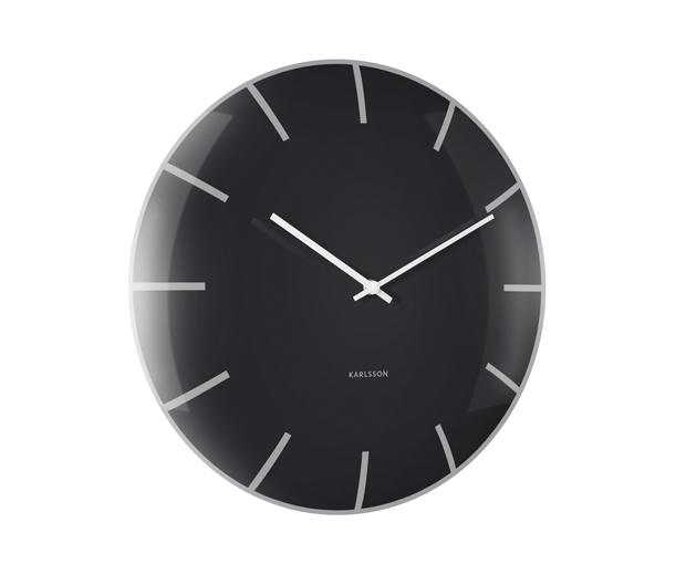 Dizajnové nástenné hodiny 5722BK Karlsson 40cm