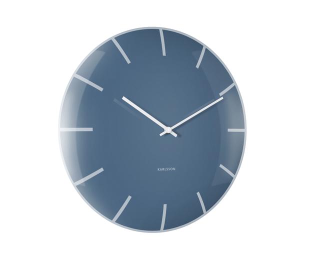 Dizajnové nástenné hodiny 5722BL Karlsson 40cm