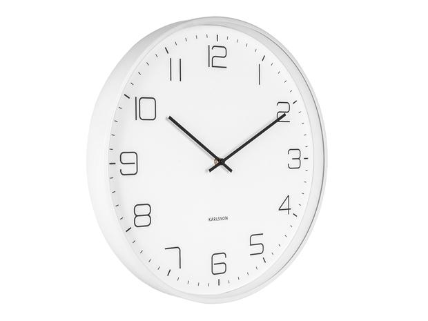 Dizajnové nástenné hodiny 5751WH Karlsson 40cm