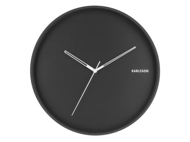 Nástenné hodiny 5807BK Karlsson 40cm