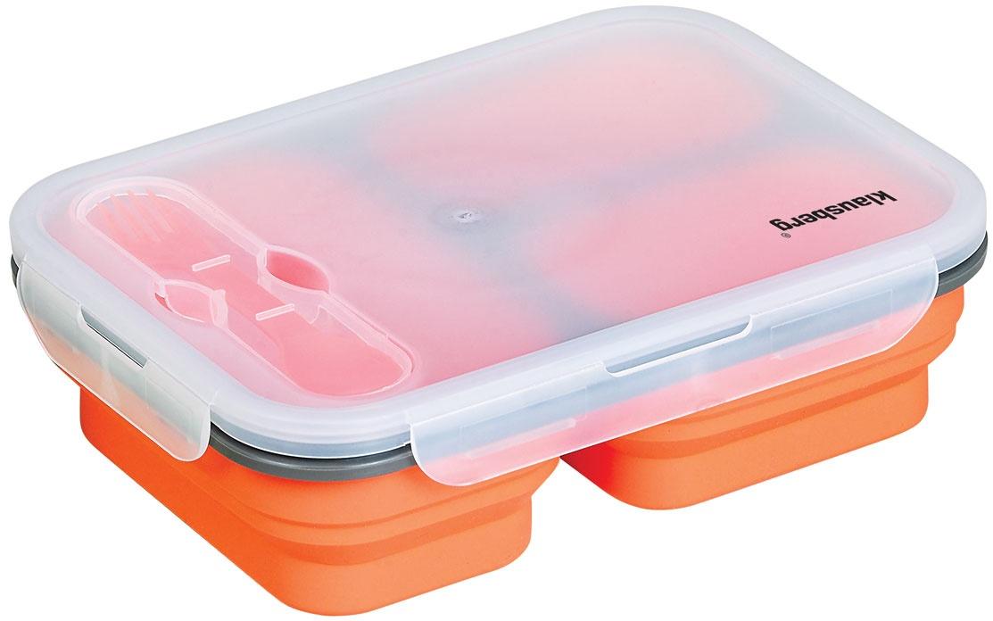 Box na jedlo Silikon, Klausberg, 1.1L KB-7024
