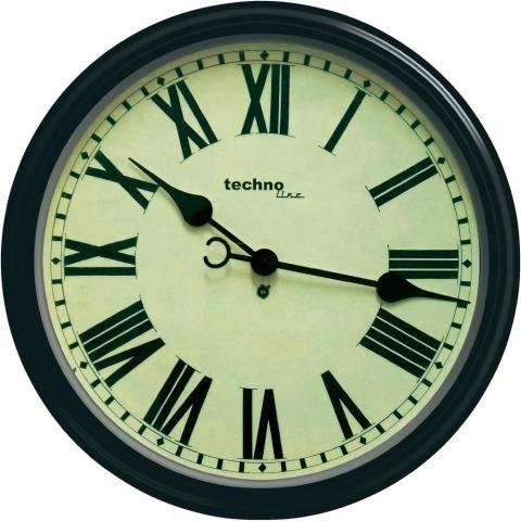 Nástenné retro hodiny Techno Line, 50 cm