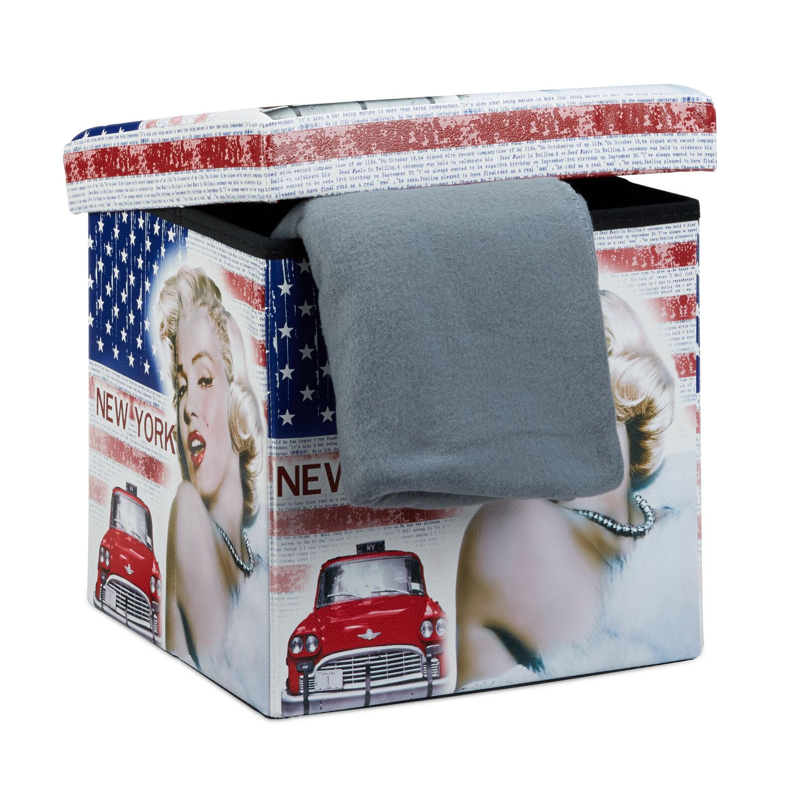 Taburetka s vekom skladacia, rd9050, Marilyn Monroe