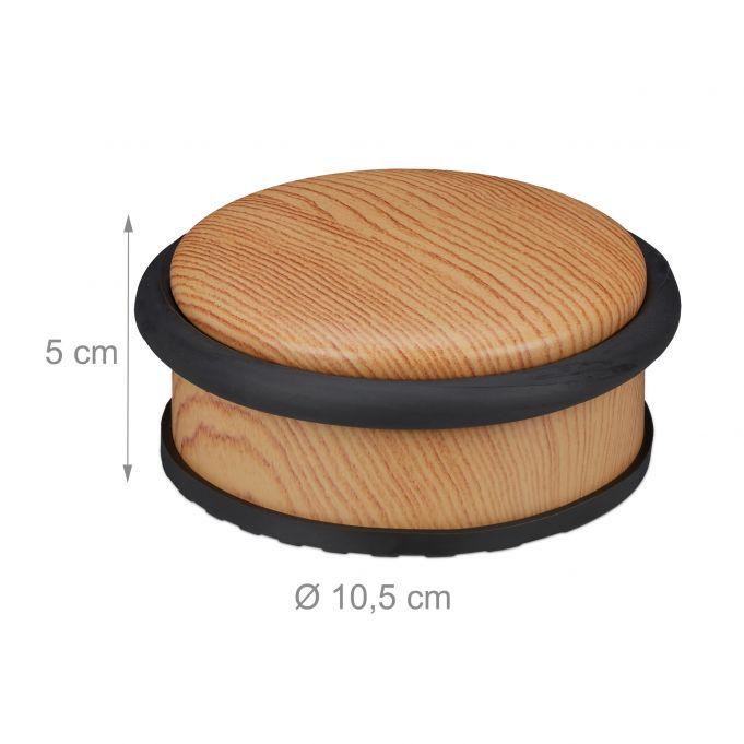 Zarážka na dvere RD0630 10,5 cm, svetlé drevo