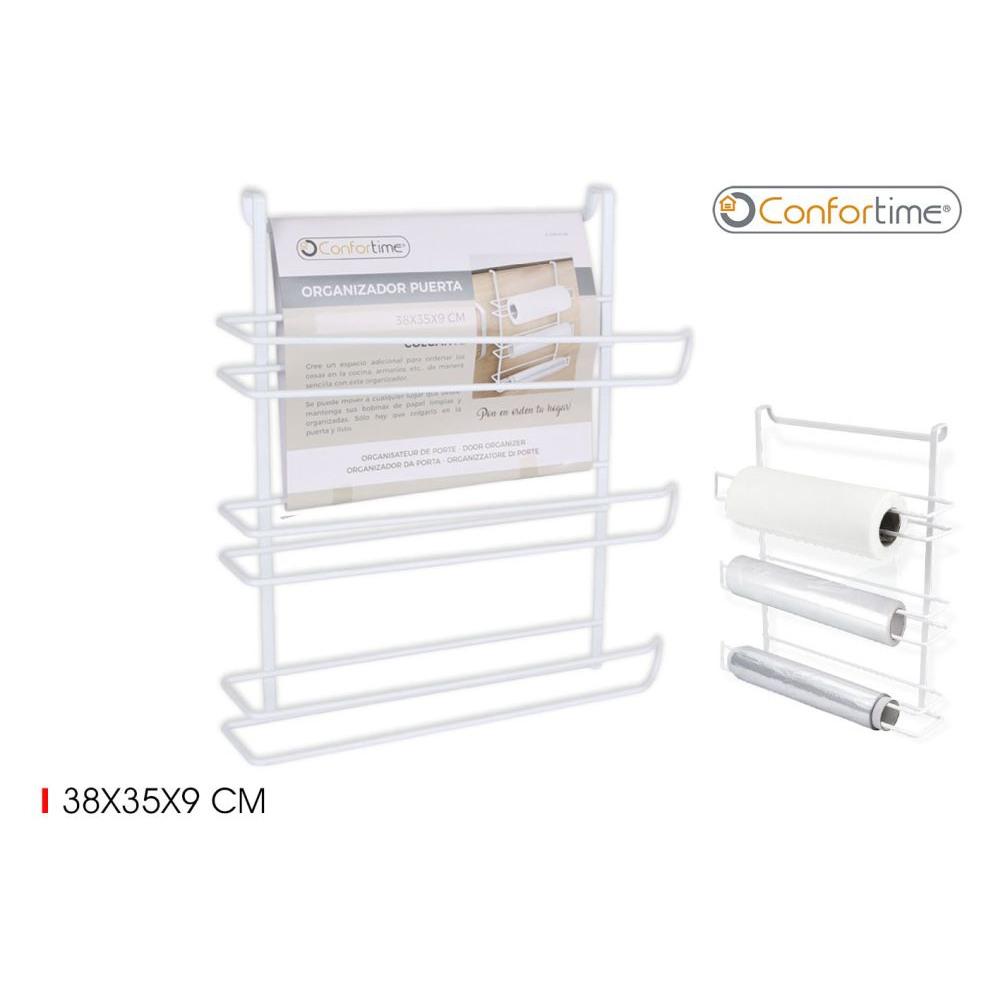 Organizér na kuchynské dvierka Confortime 2044, biely